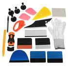Offres Flash PRO Car Wrap Vinyl Tools Kit Scratch-free Squeegee Scraper Razor Glove Magnets