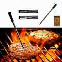 Wireless bluetooth BBQ Food Meat Thermometer Probe For Food Oven Meat Grilling Digital Thermometer