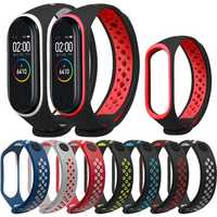 Bakeey Double Color TPE Watch Band Watch Strap Replacement for Xiaomi Miband 4