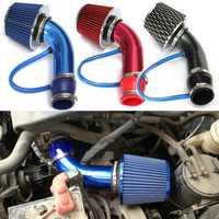 Universal Performance Cold Air Intake Filter Alumimum Induction Pipe HOSE System