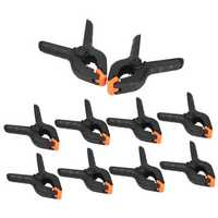 10PCS 4 inch Spring Clamps DIY Tools Plastic Nylon For Woodworking Hobbies