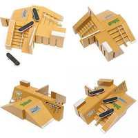 Tech Deck Finger Board Skate Park Ramp Parts Finger Board Ultimate Parks 92B
