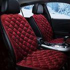 Meilleur prix 12V Heated Plush Cushion Car Seat Cover Heating Heater Warmer Pad Winter Red Universal