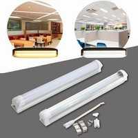 T8 30CM 10W SMD 2835 LED Warm Cool White Fluorescent Tube Light Lamp Bar AC175-265V