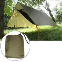 Outdoor Camping Tent Sunshade Canopy Waterproof Anti-UV Beach Hammock Awning Shelter Tarp