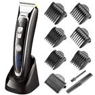Acheter SURKER Rechargeable Hair Clipper Trimmer Beard Shaver Cordless Washable LED Display Ceramic Blade