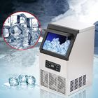 Acheter au meilleur prix Automatic Ice Making Machine 60 KG Commercial or Household for Bar Coffee Milk Tea Shop Electric Cube Ice Maker Machine Portable