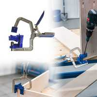 Auto-adjustable 90 Degree Corner Clamp Face Frame Clamp Woodworking Clamp
