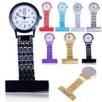 Stainless Steel Arabic Numerals Nurse Watch Colorful Watches