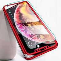 Bakeey 360° Full Body PC Protective Case With Tempered Glass Film for iPhone XR/XS/XS Max/X