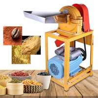 Electric Grinder Grain Mill Machine Automatic Multifunctional Food Pulverizer Machine