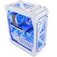 46*21*54.5cm Pccooler Blizzard Acrylic Ttransparent Computer Case Vertical for ATX/ITX/M-ITX