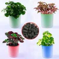 DIY Mini Activated Carbon Grass Potted Plant Desktop Office Decor