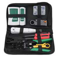 LAN Network Cable Tester Crimp Crimper Plier Kit Cat5 RJ45 RJ11 RJ45 Hand Tool