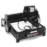10W USB Desktop DIY CNC Laser Engraving Marking Machine For Metal Stone Wood