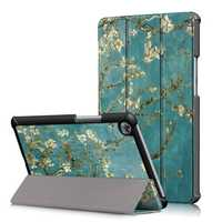 Apricot Blossom Tri Fold Case Cover For 8.4 Inch Huawei Mediapad M5 Tablet