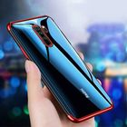 Promotion Bakeey Plating Shockproof Transparent Soft TPU Protective Case for Xiaomi Redmi Note 8 pro