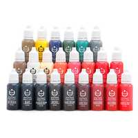 Tattoo Ink 23 Colors Tattoo Pigment Ink Easy To Color Waterp