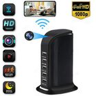Acheter au meilleur prix 1080P Wireless Monitor Camera Multi-usb Wifi Phone Remote viewing Angle 90° with 5 USB Charger