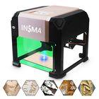 Meilleurs prix 3000mW USB Laser Engraver Desktop DIY Logo Mark Printer Carver Laser Engraving Machine
