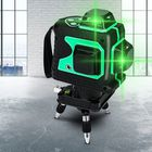 Meilleur prix 3D Green Auto Laser Level 12 Lines 360° Horizontal & Vertical Cross Build Tool Measuring Tools