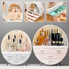 Promotion Women Jewelry Box Organizer Holder Cosmetic Case Makeup Brush Storage Drawer