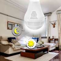 BESDER B13-L-V2 1080P PTZ 360 ° FishEye Wireless IP Camera Bulb Light 3D VR Mini Panoramic Home CCTV Security Bulb Camera