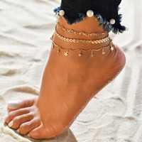 Bohemian Arrow-studded Anklet