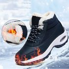 Discount pas cher Women Slip Resistant Air Cushion Comfy Boots Sneakers