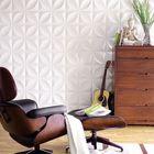 Bon prix 12pcs/set 3D Wall Panel Decoration Ceiling Tiles Wall paper Background Decor