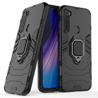 Promotion Bakeey Armor Magnetic Card Holder Shockproof Protective Case For Xiaomi Redmi Note 8