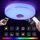 Acheter 36W Modern RGB 60 LED Ceiling Light bluetooth Speaker Lamp APP Remote Control