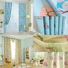 Meilleurs prix 2pcs 100*250cm High Shading Curtain Owl Cartoon Curtains Window Scarf Drapes Living Room Kids Children Bedroom Study