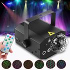 Acheter au meilleur prix 10W 16 in 1 Sound Active Stage Lighting LED Crystal Ball Light Laser Beam RGB Projector DJ Party KTV