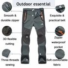 Meilleurs prix Outdoors Thick Fleece Warm Pants Soft Shell Trousers
