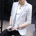 Promotion Mens Design Jacket Casual Slim Fit Suit Blazers