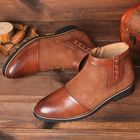 Les plus populaires Spicing Leather Slip Resistant Zipper Casual Ankle Boots