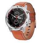 Meilleurs prix DT NO.1 DT78 Full Touch Leather Wristband Heart Rate BP BO2 Monitor Fitness Tracker Smart Watch
