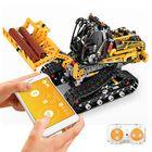 Meilleur prix MoFun DIY 2.4G Block Building Programmable APP/Stick Control Voice Interaction Smart RC Robot Car