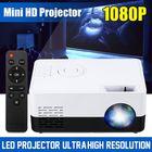 Meilleurs prix J9A Mini LED Projector 1080P Portable Pocket 3D HD Home Cinema Theater HDMI/USB/SD
