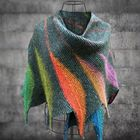 Recommandé Casual Knitted Color-Block Scarves & Shawls