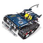 Meilleurs prix Mould King 2.4G DIY Smart RC Robot Car Block Building Bluetooth APP/Stick Control Programmable Robot Car Toy