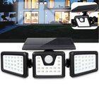 Acheter au meilleur prix 70 LED Solar Light Motion Sensor 3 Modes Wall Light Rotatable Outdoor Yard Garden Lamp