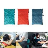 Naturehike NH19ZT001 Folding Pillow Portable Soft Sponge Back Cushion Neck Headrest Outdoor Travel