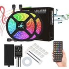 Meilleur prix DC12V 5M 10M 5050 RGB Timer Function LED Strip Light Waterproof With 40kEYS Remote Control + Music Controller