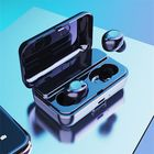Meilleurs prix F9 TWS Dual bluetooth 5.0 Wireless Stereo Earphone IPX5 Waterproof Button Touch Auto Pair Gaming Headphone with 2000mAh Power Bank for Xiaomi