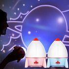 Meilleurs prix Rocket Night Light Projector Starry Sky Star Master Children Kids Baby Sleep Romantic Led USB Lamp Projection