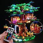Meilleurs prix DIY LED Light Lighting Kit ONLY For Lego 21318 Ideas Treehouse Bricks Toys W/Remote