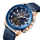 Wholesale Price KADEMAN K9073 3ATM Waterproof Dual Display Watch