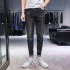 Flash Offers Season New Elastic Men's Jeans Casual Slim Feet Pants Trend Men's Long Pants